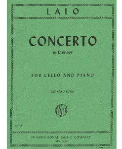 Lalo Edouard Concerto in d minor Cello and Piano by Leonard Rose - International Music